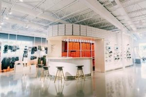 Nike store offers personalization